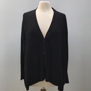Sweaters - PLANET Black Cardigan Sweater
